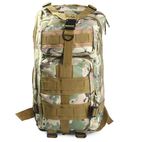 Image of Military Tactical Backpack Oxford 9 Colors 30L 3P Bags Tactical Backpack Outdoor Sports Bag Hunting Camping Climbing Fishing Bag