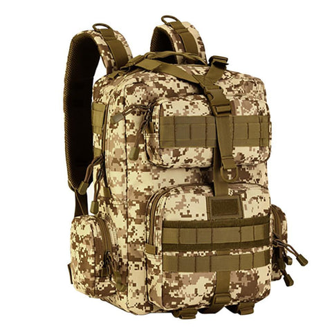 Image of Military Tactical Bag Assault Backpack Army Molle Waterproof Bug Out Bags Backpack Small Rucksack For Outdoor Hiking Camping New