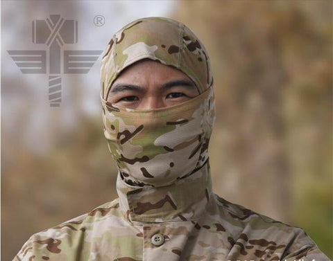 Image of Military Tactical Hunting Camouflage Balaclava Face Mask Airsoft Paintball Gear Motorcycle Ski Cycling Protect Full Face Mask