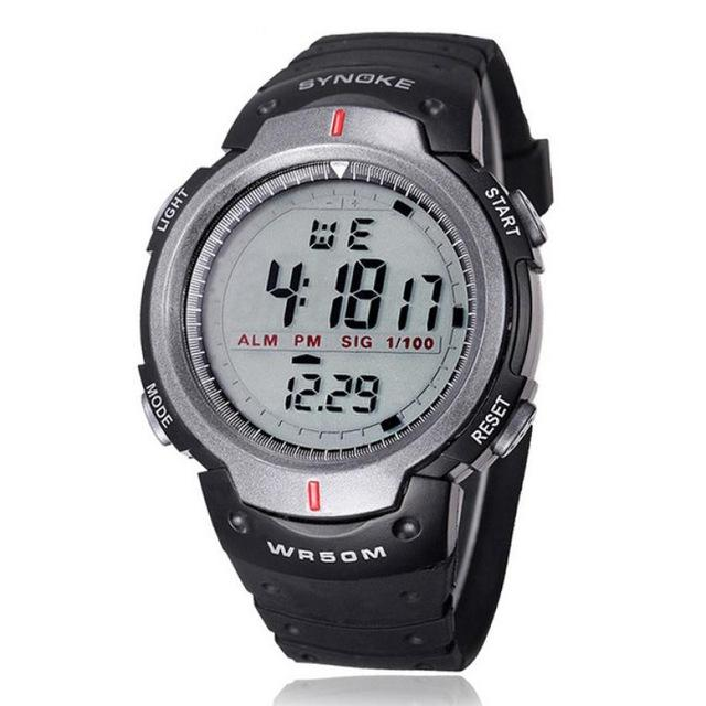 Military Wristwatch Sports Men LED Electronic Watch Fashion Digital Wrist Watches Mens Outdoor Life Waterproof Watch Hot Sale