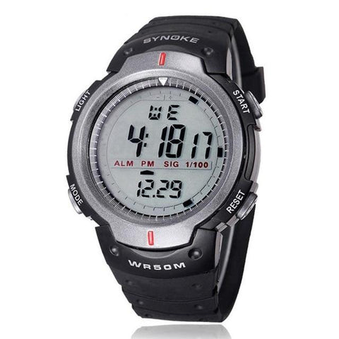Image of Military Wristwatch Sports Men LED Electronic Watch Fashion Digital Wrist Watches Mens Outdoor Life Waterproof Watch Hot Sale