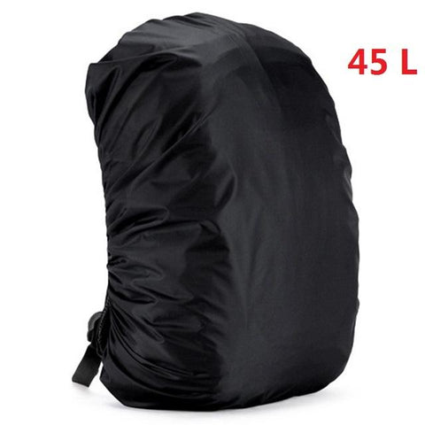 Image of Mounchain 35 / 45L Adjustable Waterproof Dustproof Backpack Rain Cover Portable Ultralight Shoulder Protect Outdoor Tools Hiking