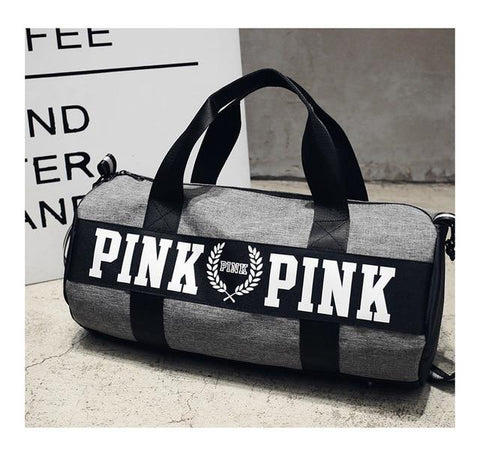 Image of New 5 Color Love Pink Sport Gym Bag Women Fitness Waterproof Backpack Training Female Yoga Duffel Bag VsTravel Totes Duffels