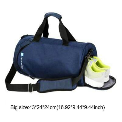 Image of Nylon Waterproof Sports Bag Fitness Bag Profession Men And Women Gym Shoulder Bag Surper Light Travel Luggage Crossbody Bags