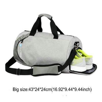 Nylon Waterproof Sports Bag Fitness Bag Profession Men And Women Gym Shoulder Bag Surper Light Travel Luggage Crossbody Bags