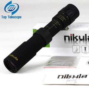 Original Binoculars Nikula 10-30x25 Zoom Monocular High Quality Telescope Pocket Binocular Hunting Optical Prism Scope No Tripod