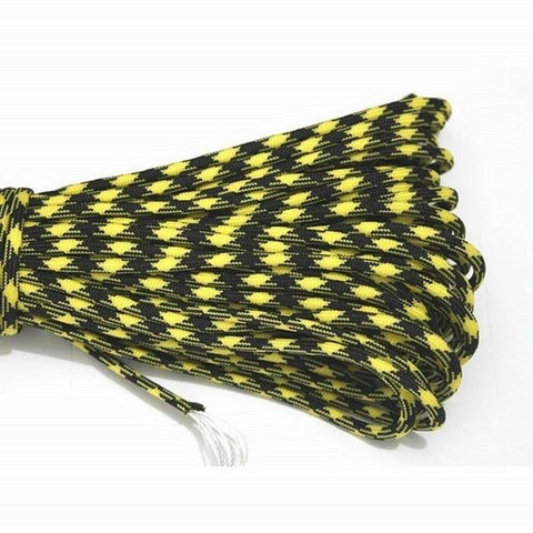 Image of Paracord 550 Parachute Cord Lanyard Rope Mil Spec Type III 7 Strand 100FT 31m Climbing Camping Survival Equipment Climbing Rope