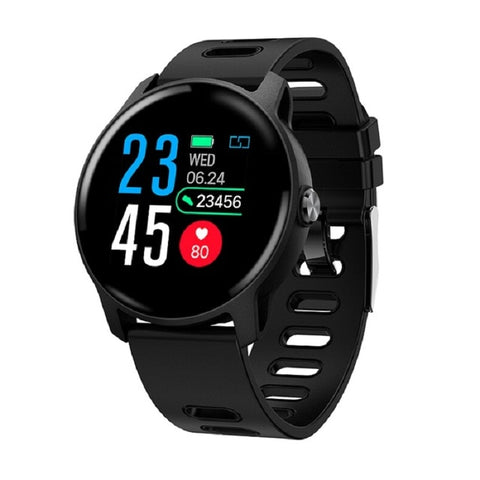 Image of Men Sports Pedometer Smart Watch IP68 Waterproof  Fitness Tracker Heart Rate Monitor Women Smartwatch