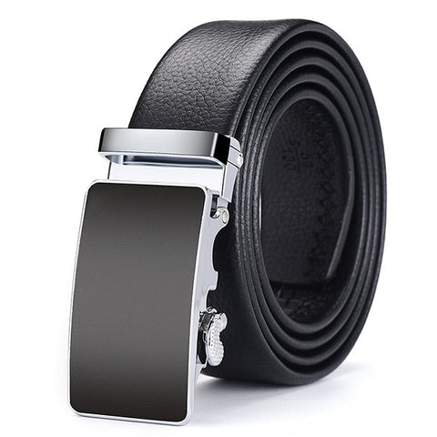 Famous Brand Belt Men Top Quality Genuine Luxury Leather Belts Metal Automatic Buckle