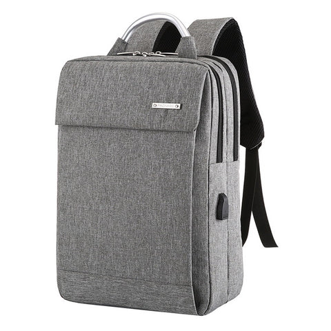 Litthing Anti Theft USB Laptop Backpack Business Large Capacity Backpack Men Computer School Bag Travel Bagpack Student Bag