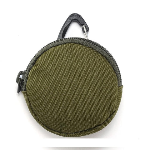 Image of 900D Tactical Wallet Pouch Portable Key Coin Purse With Hook Earphone Bag Mini Key Holder Pouch for Hunting Camping
