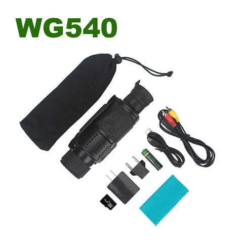 Image of Infrared Digital Night Vision Monoculars with 8G TF card full dark 5X40 200M range Hunting Monocular Night Vision Optics