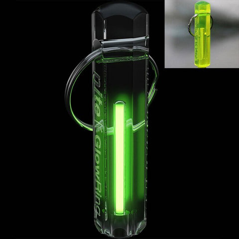 Automatic Light Tritium Gas Lamp Key Ring Self Luminous Life Saving Emergency Lights For Outdoor Safety and Survival Tool