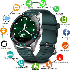 LIGE Smart Watch Men LED Screen Heart Rate Monitor Blood Pressure Fitness tracker Sport Watch waterproof Smartwatch + Box