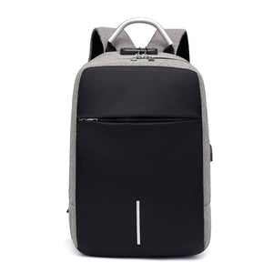 Men Multifunction Anti Theft Backpack 15.6