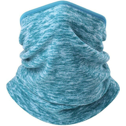 Image of Winter Polar Fleece Thermal Balaclava Neck Gaiter Headband Half Face Mask Cold Weather Warm Tube Ring Scarf Bandana Women or Men