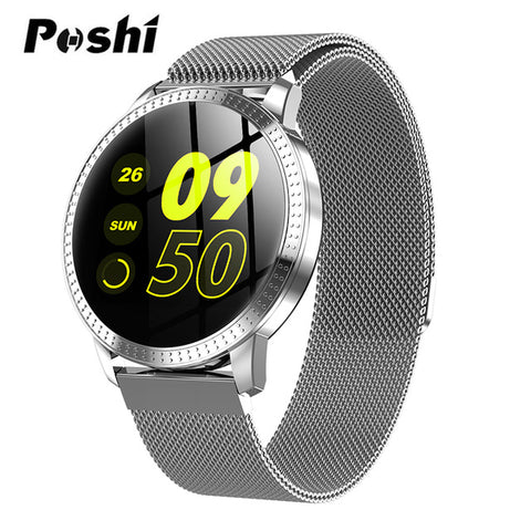 Smart Watch Series OLED Screen Push Message Bluetooth Connectivity Android IOS Men Women GPS Fitness Tracker Heart Rate Monitor