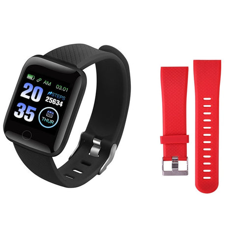 Image of 116 Plus Smart Watch Wristband Sports Fitness Blood Pressure Heart Rate Call Message Reminder Pedometer D13 Smart Watch Z2