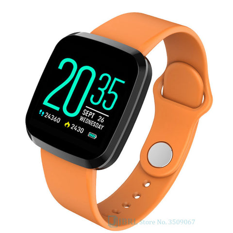 Smart Watch Women Men For Android IOS Electronics Smart Clock Fitness Tracker Silicone Strap Smart-watch Hours