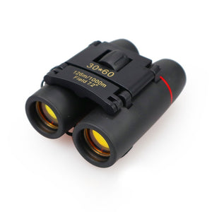 Zoom Telescope 30x60 Folding Binoculars with Low Light Night Vision for outdoor bird watching travelling hunting camping