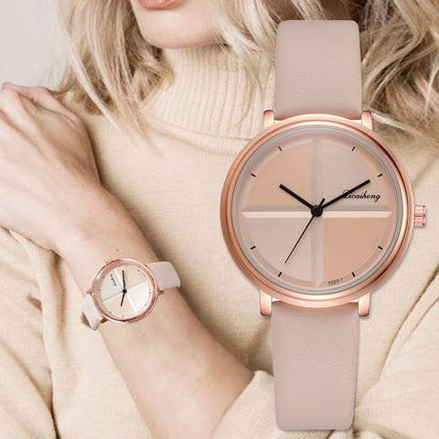 Image of Exquisite Simple Style Women Watches Small Fashion Quartz Ladies Watch Elegant Girl Bracelet Watch
