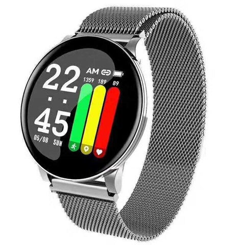 LYKRY Smart Watch Men Women Blood Pressure Activity Sport Wristband Fitness Tracker Blood Oxygen Monitor smartwatch for Android