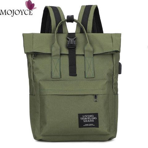 Women Preppy Large Backpack Canvas/Nylon Travel Backpack Male Girls Laptop Backpack School Bags