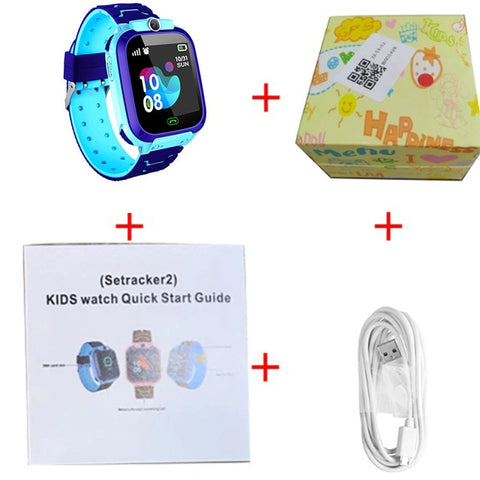 Q12 Smart Watch LBS Kid SmartWatches Baby Watch 1.44 Inch Voice Chat GPS Finder Locator Tracker Anti Lost Monitor with Box