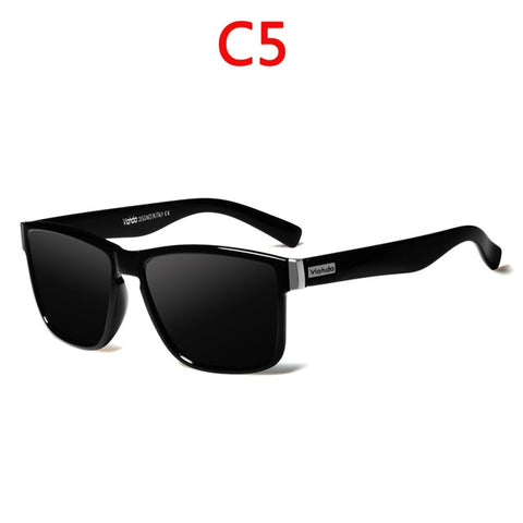 Image of Viahda Brand Design Polarized Sunglasses Men Driving Shades Male Sun Glasses Mirror Summer UV400
