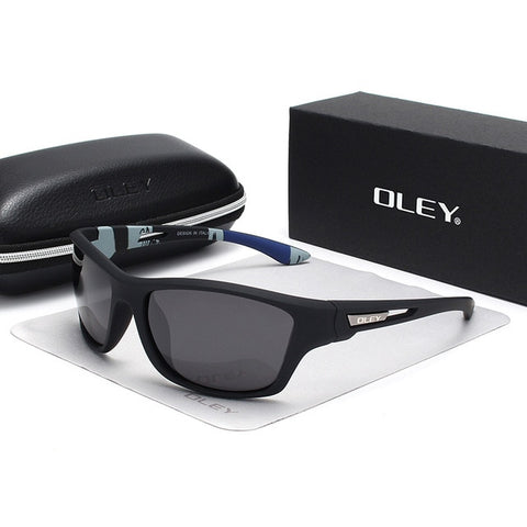 OLEY Polarized Sunglasses Men's Driving Shades Outdoor sports For Men Luxury Brand Designer