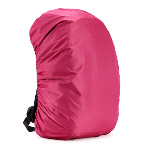35/45L Adjustable Waterproof Dustproof Backpack Rain Cover Portable Ultralight Shoulder Protect Outdoor Hiking