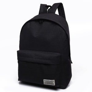 Scione Canvas Men's Backpack Male/Female School Laptop Backpack for Teenagers Travel Bag Rucksack