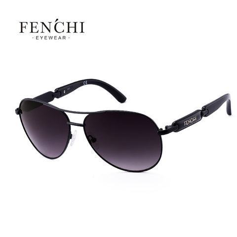 Image of FENCHI Polarized Sunglasses Women Vintage Brand Glasses Driving Pilot Pink Mirror sunglasses