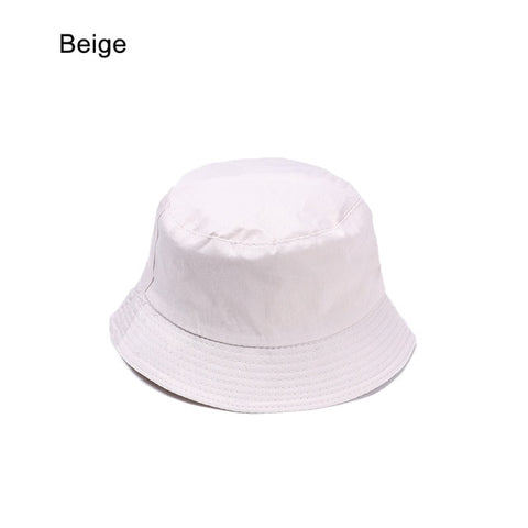 Image of Summer Foldable Bucket Hat Unisex Women Outdoor Sunscreen Cotton Fishing Hunting Cap Men Basin Chapeau Sun Prevent Hats