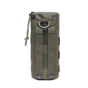 Tactical Molle Water Bottle Bag Pouch Upgraded Travel Holder Sport Bag Outdoor Hydration For Camping Hiking Fishing Bags