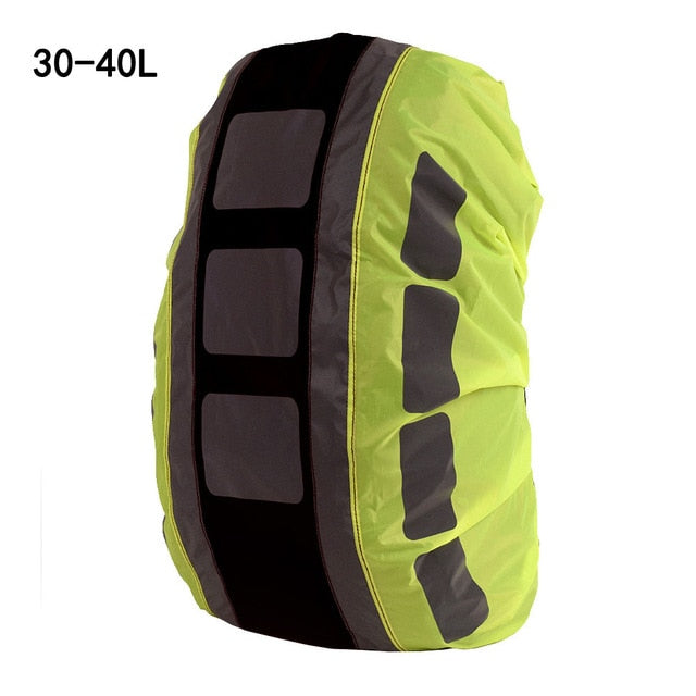 Rain Cover Backpack Reflective Waterproof Dustproof Sport Bag Cover Outdoor Travel Hiking Climbing Rucksack Rainproof Cover