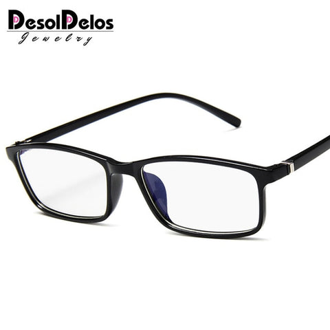 Image of Anti Light Glasses Ray Blue Fashion Anti Blue Fatigue Protection Blocking Goggles Eye Square Radiation Computer Glasses