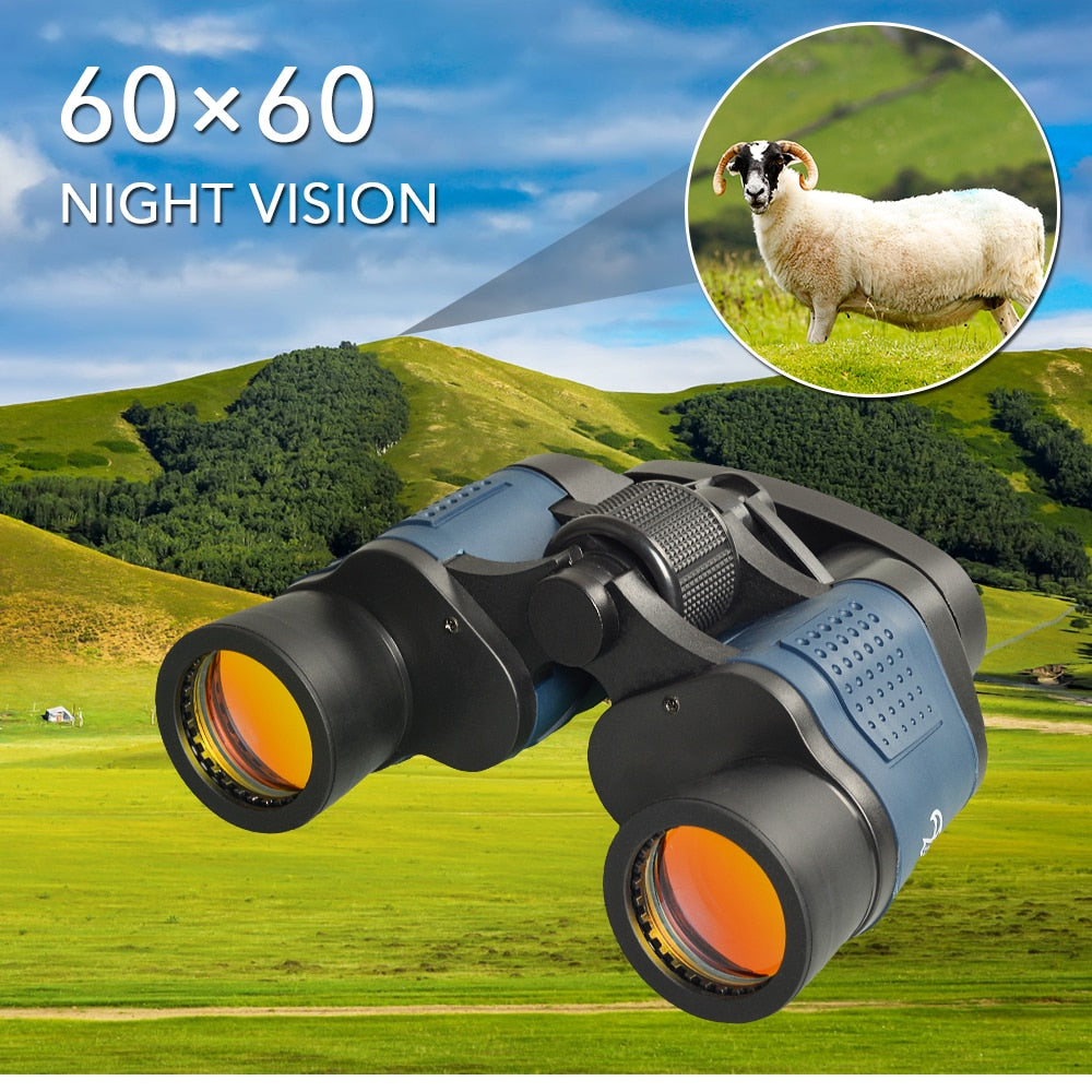 APEXEL Professional Telescope 60X60 Binoculars 10000M High Power For Outdoor Hunting Optical Night Vision Binoculars Waterproof