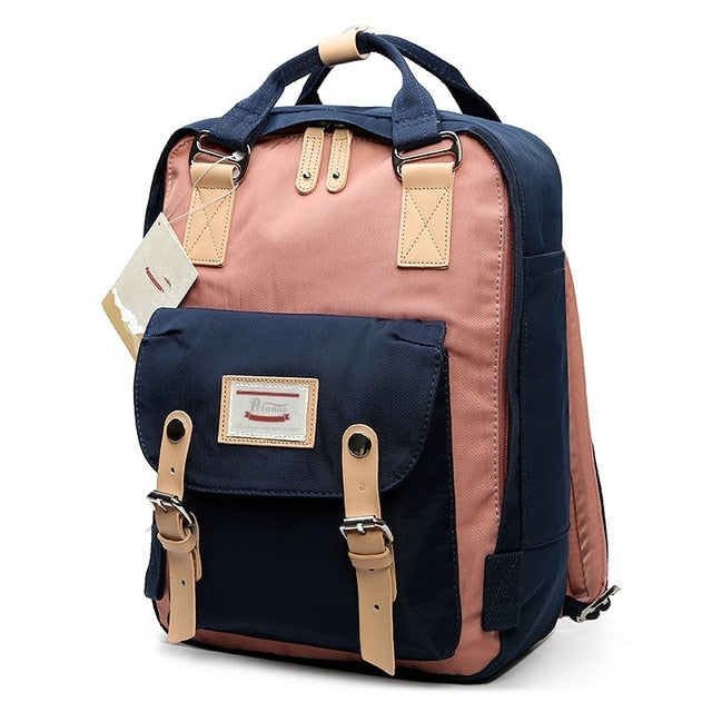 Backpack Women Large Capacity School Backpack Canvas Rucksack For Girls Fashion Vintage Style Laptop Travel Bags
