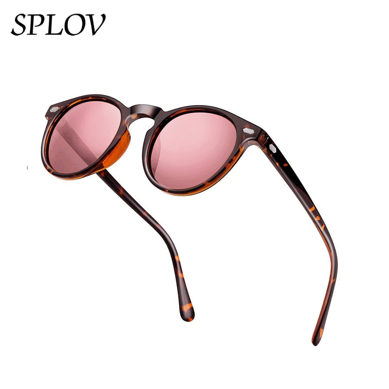 Polarized Sunglasses Men Women Fashion Round TAC Lens TR90 Frame Brand Designer Driving Sun Glasses UV400