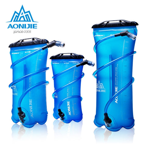 Image of AONIJIE SD16 Soft Reservoir Water Bladder Hydration Pack Water Storage Bag BPA Free - 1.5L 2L 3L Running Hydration Vest Backpack