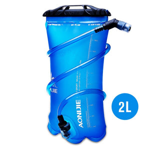 AONIJIE SD16 Soft Reservoir Water Bladder Hydration Pack Water Storage Bag BPA Free - 1.5L 2L 3L Running Hydration Vest Backpack