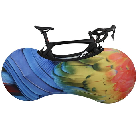 Image of MTB Road Bike Protector Wheels Cover Dust-Proof Scratch-proof Indoor Protective Gear 26 27.5 29 700C Storage Bag