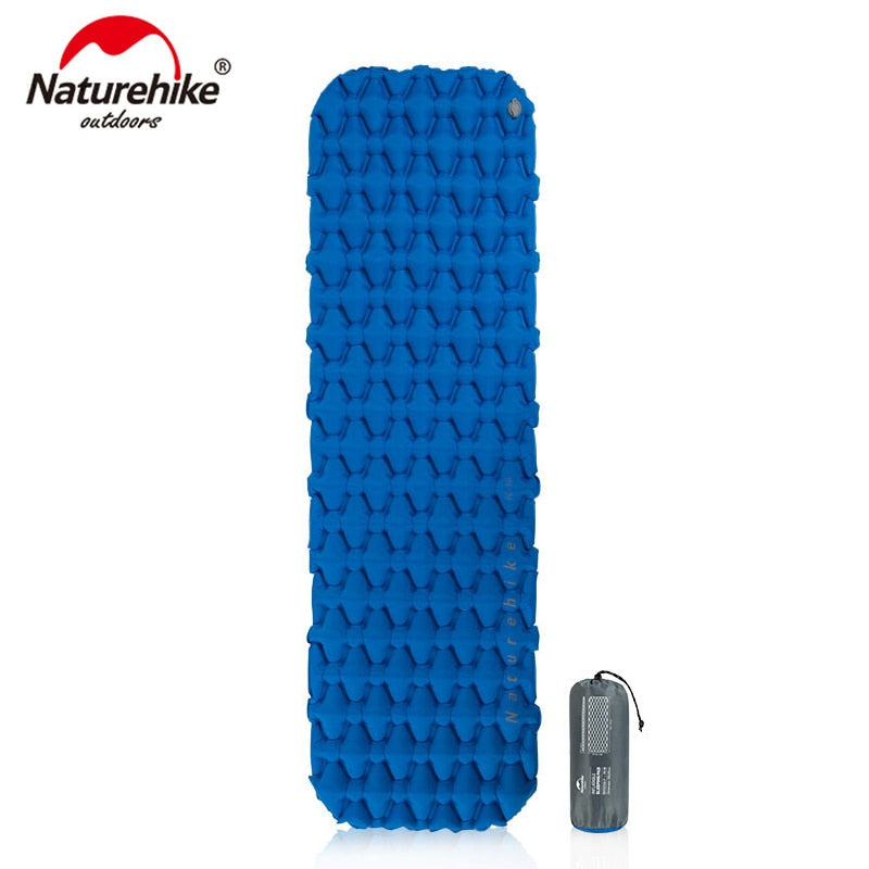 Nylon TPU Sleeping Pad Lightweight Moisture-proof Air Mattress Portable Inflatable Mattress Camping Mat