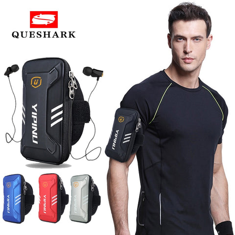 Men Women Waterproof Reflective Fitness Running Case Arm Bag Wallet Jogging Phone Holder Bag Sports Armband bag Arm Band Pouch