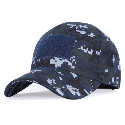 Image of 17 Colors Camo Men's Baseball Cap Male Trucker Tactical Men's Cap Camouflage Snapback Hat