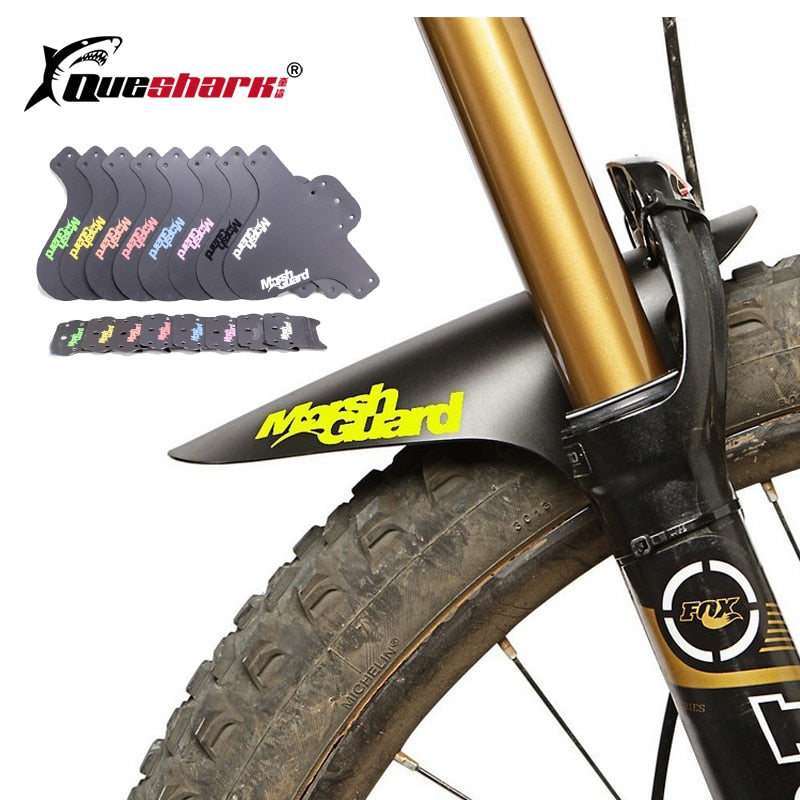 Colorful MTB Road Bike Mud Flaps Cycling Bicycle Wings Front Bicycle Mudguard For Mountain Bike Bicycle Fender
