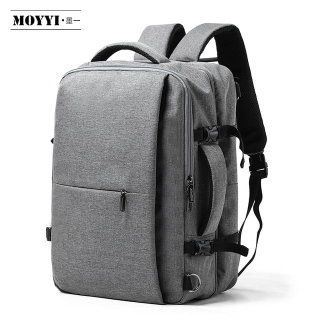 Business Travel Double Compartment Backpacks Multi-Layer with Unique Digital Bag for 15.6 inch Laptop Mens Backpack Bags