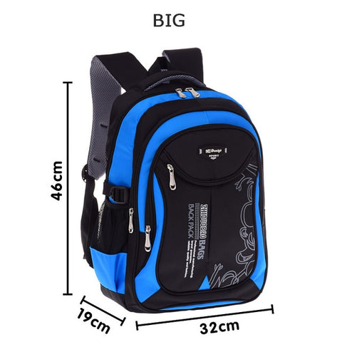 Image of Children school bags for teenagers boys girls big capacity school backpack waterproof satchel kids book bag