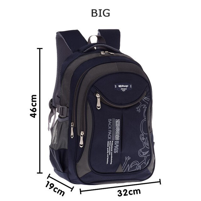Children school bags for teenagers boys girls big capacity school backpack waterproof satchel kids book bag